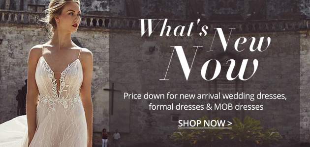 Price Down for New Arrival Wedding and Formal Dresses